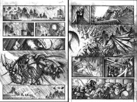 Batman vs Predator pg1-2 by VASS-comics