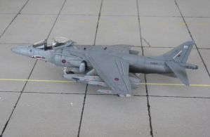 BAe Harrier Gr7 RAF 9 by marek1101