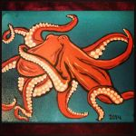Yet another pink octopus... by JadasArtVision