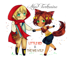 APH Halloween Exchange: Turkraine in the Nyo by LKeiko