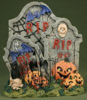 Halloween Decor I by IQuitCountingStock