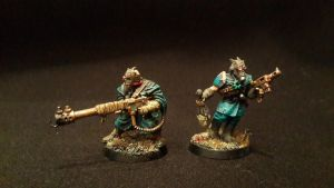 Alpha Legion's provocateurs and instigators by idushiy