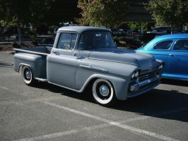 1958 Chevrolet Apache 3100 pickup truck by RoadTripDog