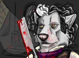 Sweeney Todd by Syberwolf