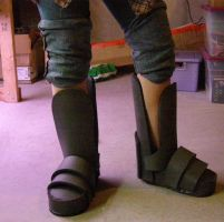 COG Boots - Worn from Front by LadySiha
