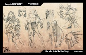 Character Concept Art 05 by LazarusReturns