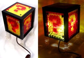 Super Mario Bros. Nightlight Made of LEGO by VonBrunk