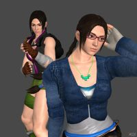 JULIA CHANG TEKKEN 4 - REMAKE by Changinformatica