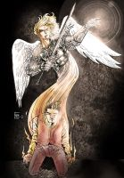 Angel Protector by Francundo