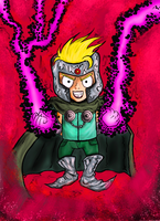 professor Chaos colored by BinaryDood