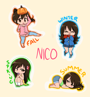 Nico of the Seasons by OfficialChii24