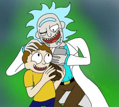 Rick and Morty by ShinySmeargle