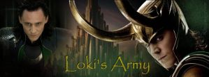 Loki's Army Facebook Cover by DecayingFlower