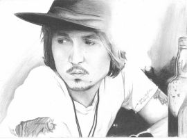 Johnny Depp Sketch by ska112