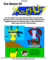 Sonichu Issue 0 Page 1 by viviG