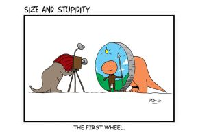 Size and Stupidity. Wheel by Size-And-Stupidity