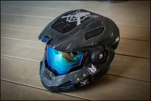 HALO Reach MkV (B) Helmet 100% by ArmorCorpCustoms
