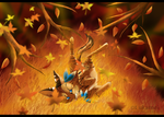 Autumn (+speedpaint video) by Alukei