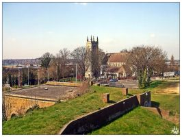 St Mary's Church from Fort Amherst (02.04.12) by LacedShadowDiamond