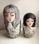 matryoshka dolls by rokkihurtta