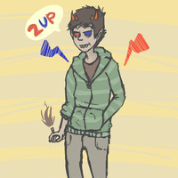 sollux by skull-fucker