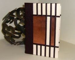 Art Deco Copper Leather Book by msjbass