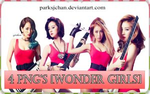 Wonder Girls PNG Pack 001 by ParkSjChan