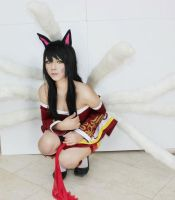 league of legend ahri the ninetailed fox by CosPlayJG