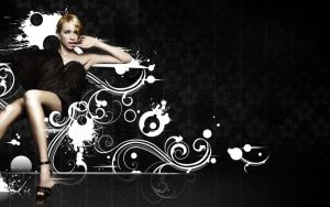 Lady in Black by Artillusion