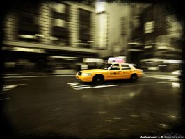 Time Square Taxi 1024 x 768 by l8
