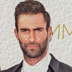 Adam Levine - Paint by insidegraphic