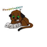 Pawprint007 ID :CO: by Sicila