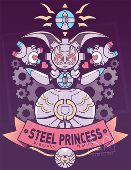 Steel Princess - Magearna by SarahRichford