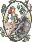 the drow and the rose by RollerBoyjeremy