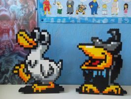 LEGO Earthbound:  Mad Duck and Spiteful Crow by ProfMadness