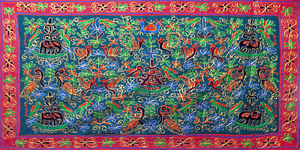 Indian Embroidered Cloth 2 by LilipilySpirit