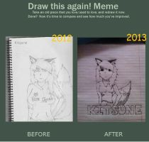 Draw This Again! [Kitsune] by OvenMittensForGandhi