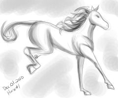 Horse a Day - Dec 01 by liliy
