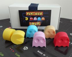 Our New Pac-Man Soap! by FushichosGallery
