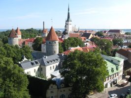 Estonia Tallinn by MaryTheQueen