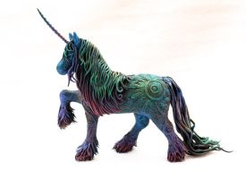 Black Unicorn collab by hontor