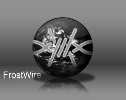 Frostwire Black Icn by x986123