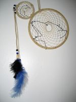 Wolf Howl 2 Dream Catcher by Moongleam