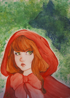 Little Red Riding Hood. by CaramelBoucle