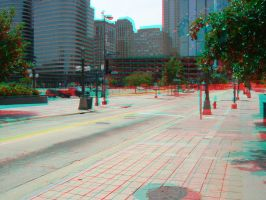 Minneapolis Nicollet Mall 3D by LittleBigDave