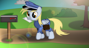 Derpy The Mailmare by Izeer