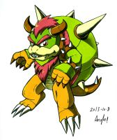 Koopa Chestnaught by Angle-007