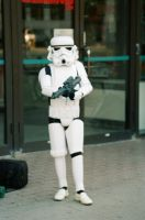 The Strormtrooper In Front Of The Movie Theater by Neville6000