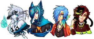 TiH: Busts by peipur