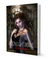 Moonlight Desire Book Cover Art by xgnyc